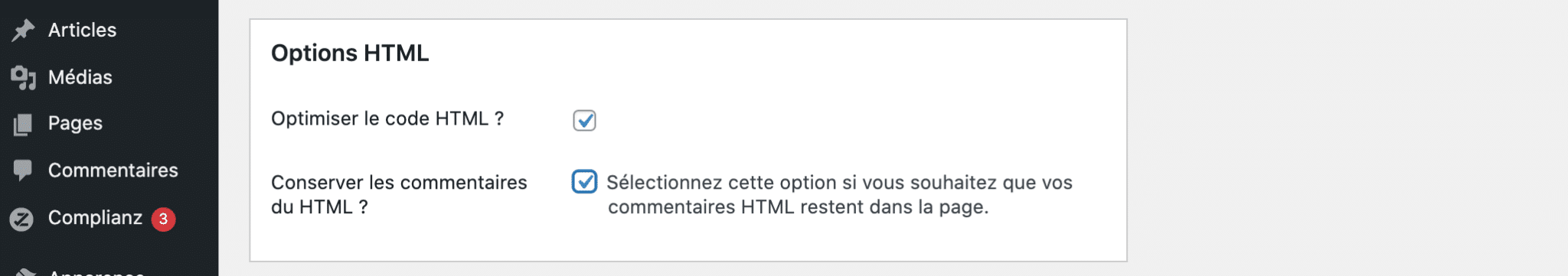 8 options html