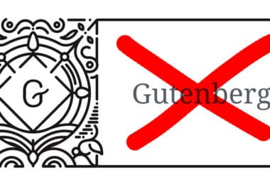 desactiver gutenberg wordpress