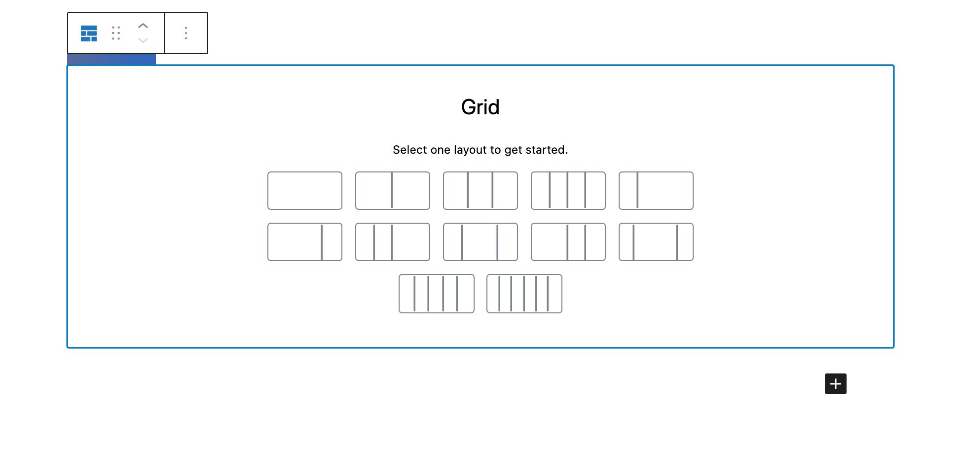grid columns