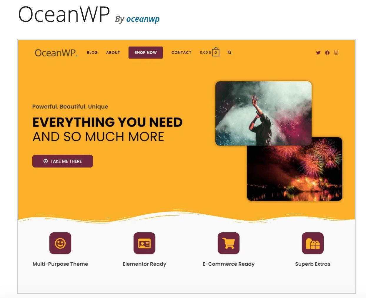 ocean wp