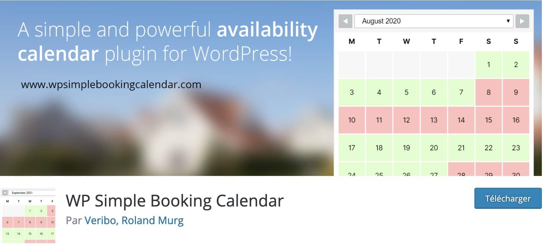 calendriers wordpress meilleurs plugins 6