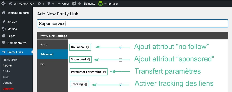 pretty links plugin wordpress 6